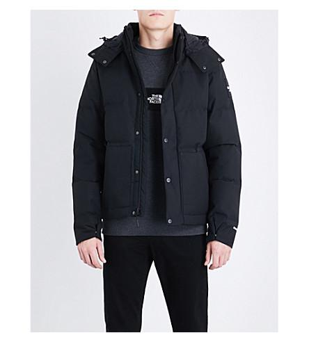 The North Face Box Canyon Shell-Down Jacket In Tnf Black