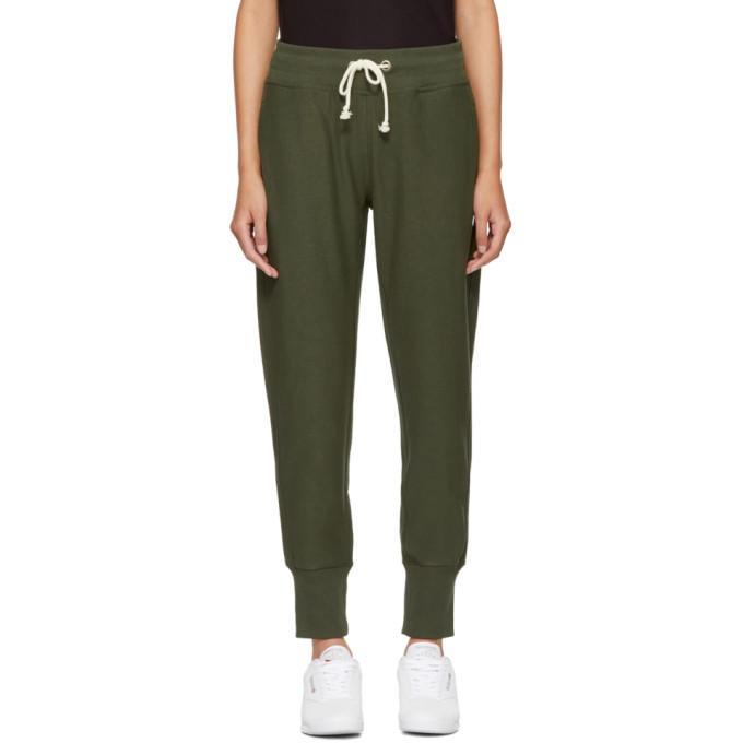 Champion Green Logo Lounge Pants