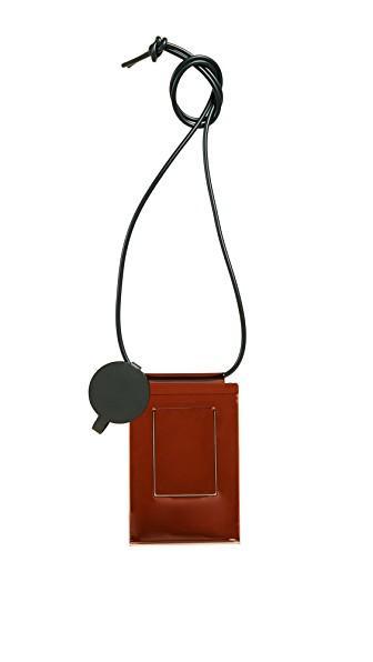 Building Block Iphone Sling Bag In Multi