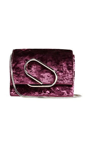 3.1 Phillip Lim Alix Micro Cross Body Bag In Syrah