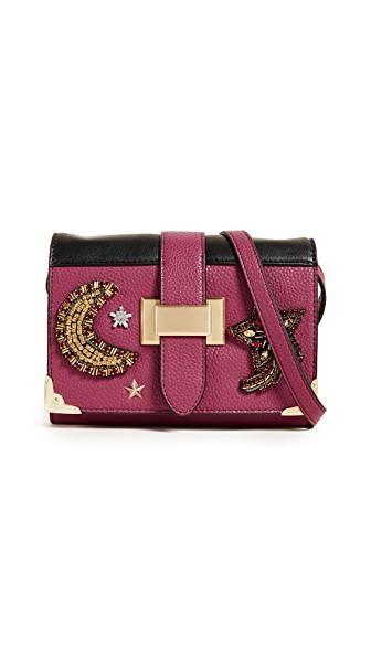 Sam Edelman Florence Shoulder Bag In Pink Garnet