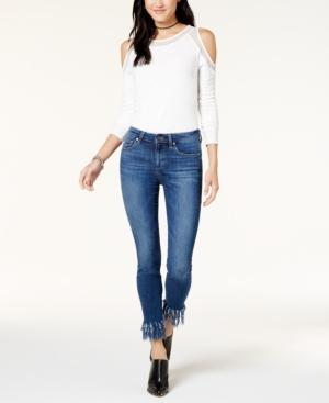 Joe's Jeans The Icon Ankle W/ Extreme Fray Jeans In Ferra