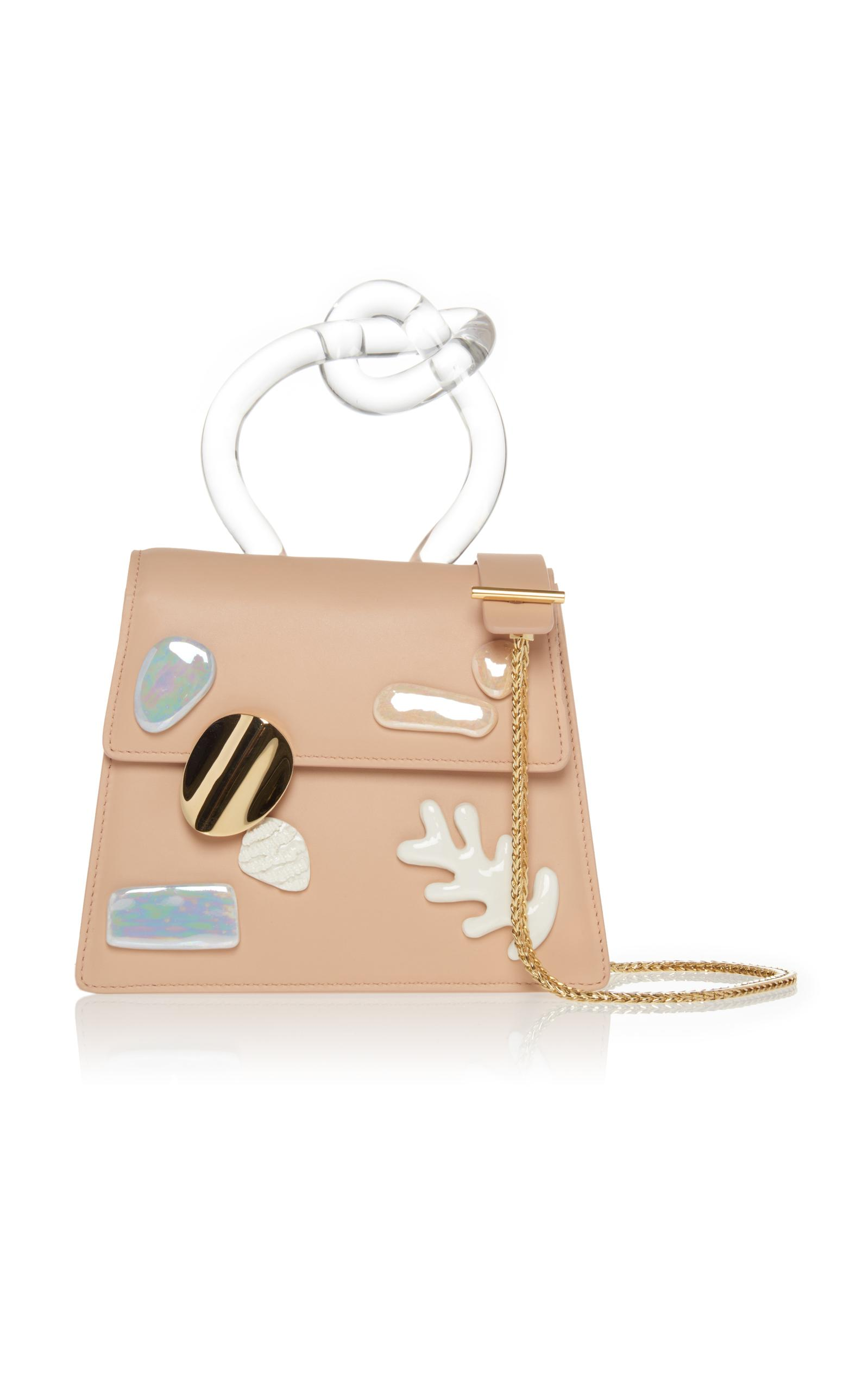 Benedetta Bruzziches Brigitta Top Handle Bag In Neutral