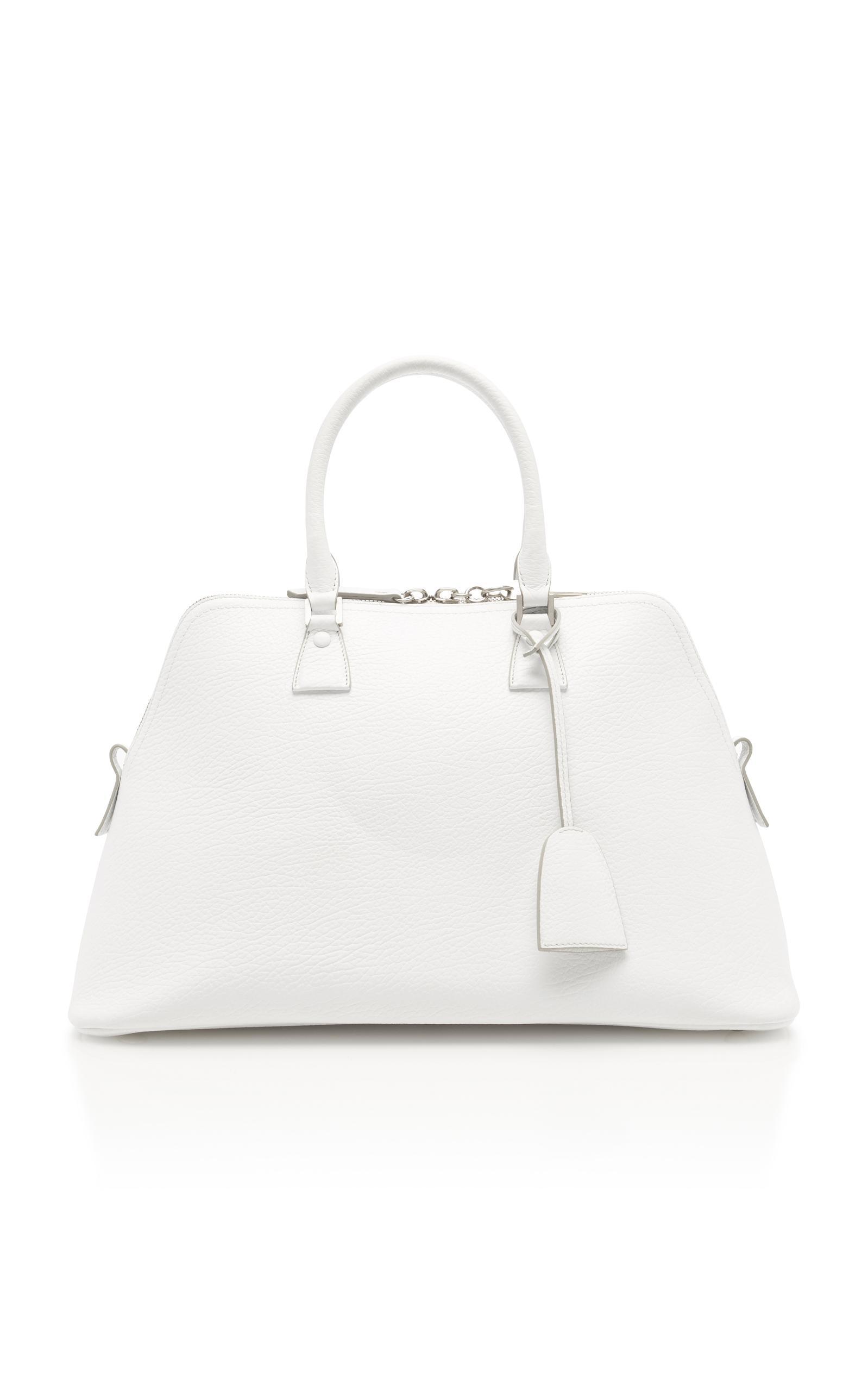 Maison Margiela Large Shoulder Bag In White