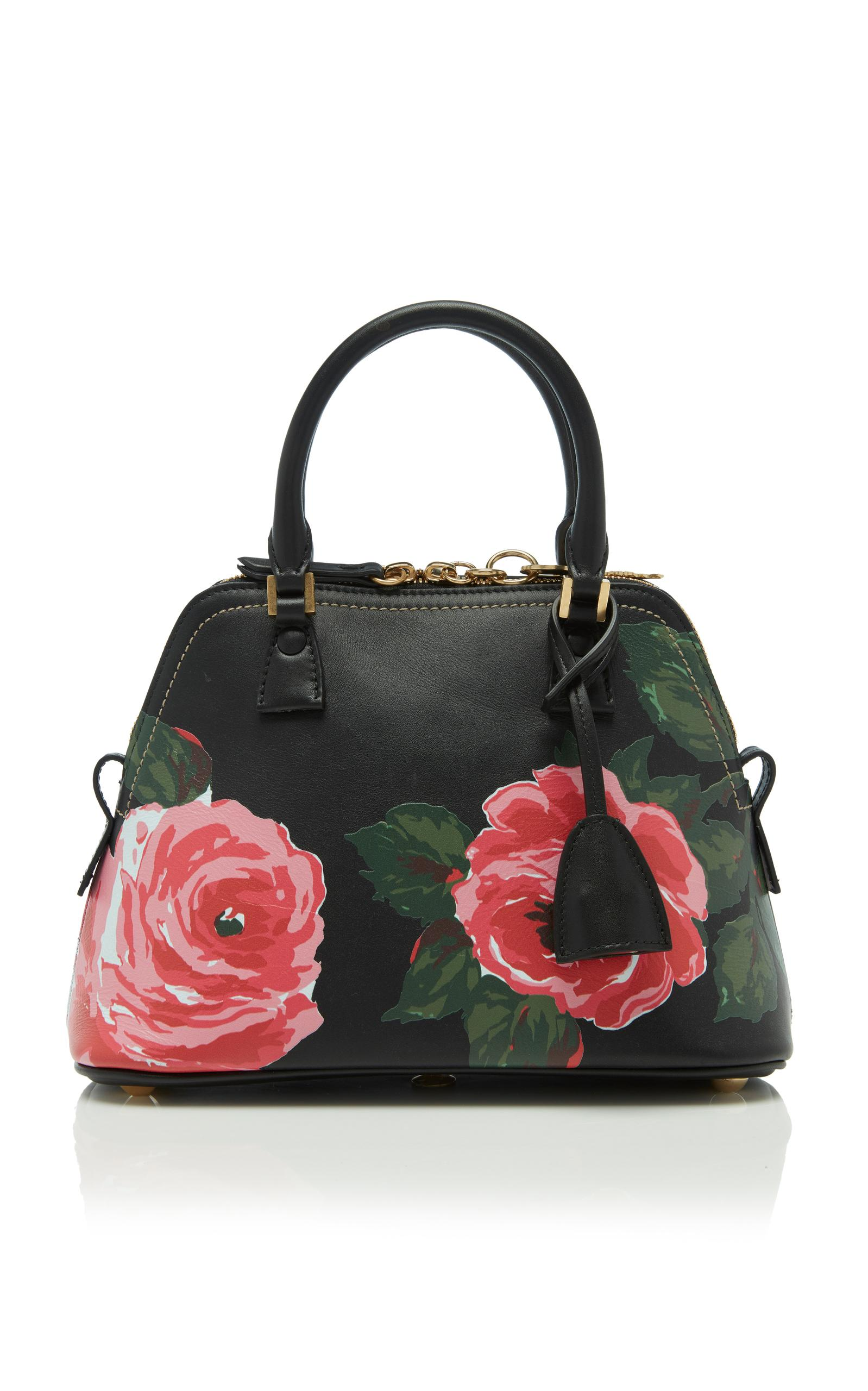 Maison Margiela 5Ac Mini Tote Bag In Floral