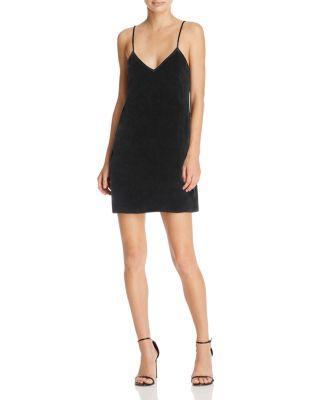 Cami Nyc The Backless Velvet Slip Dress In Black