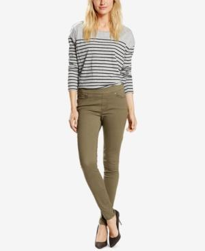 Levi's Skinny Perfectly Slimming Pull-On Jeggings In Olive
