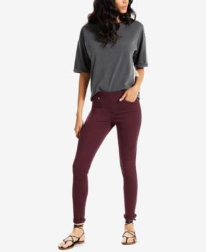 Levi's Skinny Perfectly Slimming Pull-On Jeggings In Malbec