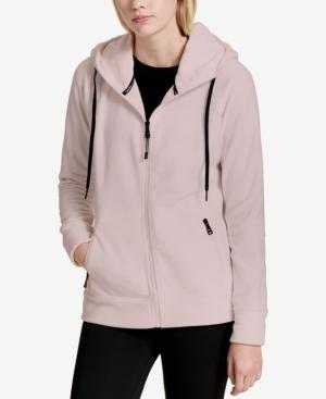 Calvin Klein Performance Logo Zip Hoodie, Created For Macy's In Bare