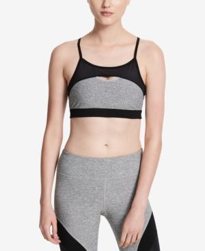 Calvin Klein Performance Keyhole Medium-Support Sports Bra In Black Combo