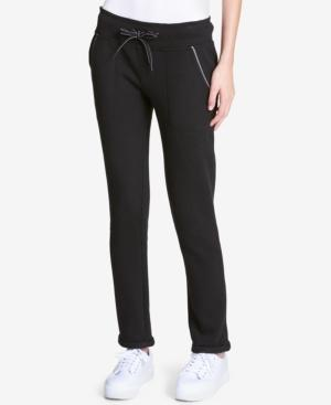 Calvin Klein Performance Stretch Pants, A Macy's Exclusive Style In Black
