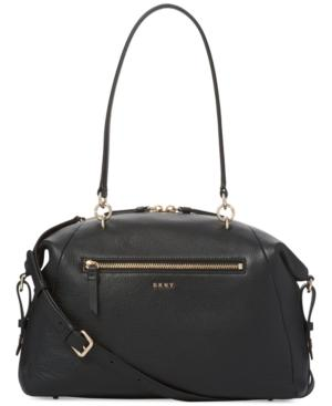 Dkny Chelsea Large Satchel, Created For Macy's In Black