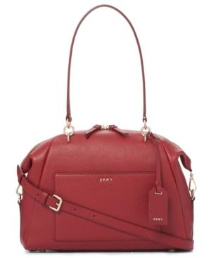 Dkny Chelsea Large Satchel, Created For Macy's In Red
