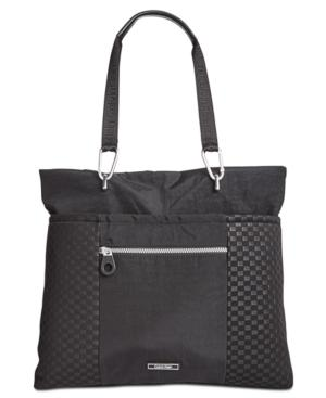 Calvin Klein Athleisure Extra-Large Tote With Pocket In Blk/Black