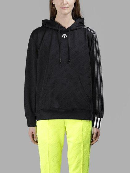 Adidas Originals By Alexander Wang Adidas By Alexander Wang Women's Yellow Jacquard Hoodie In In Collaboration With Alexander Wang