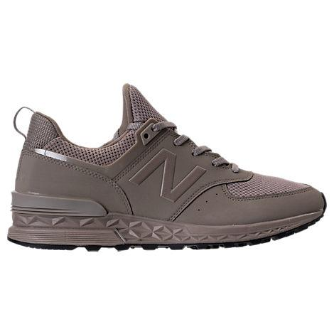 New Balance Men's 574 Synthetic Casual Sneakers From Finish Line In Brown