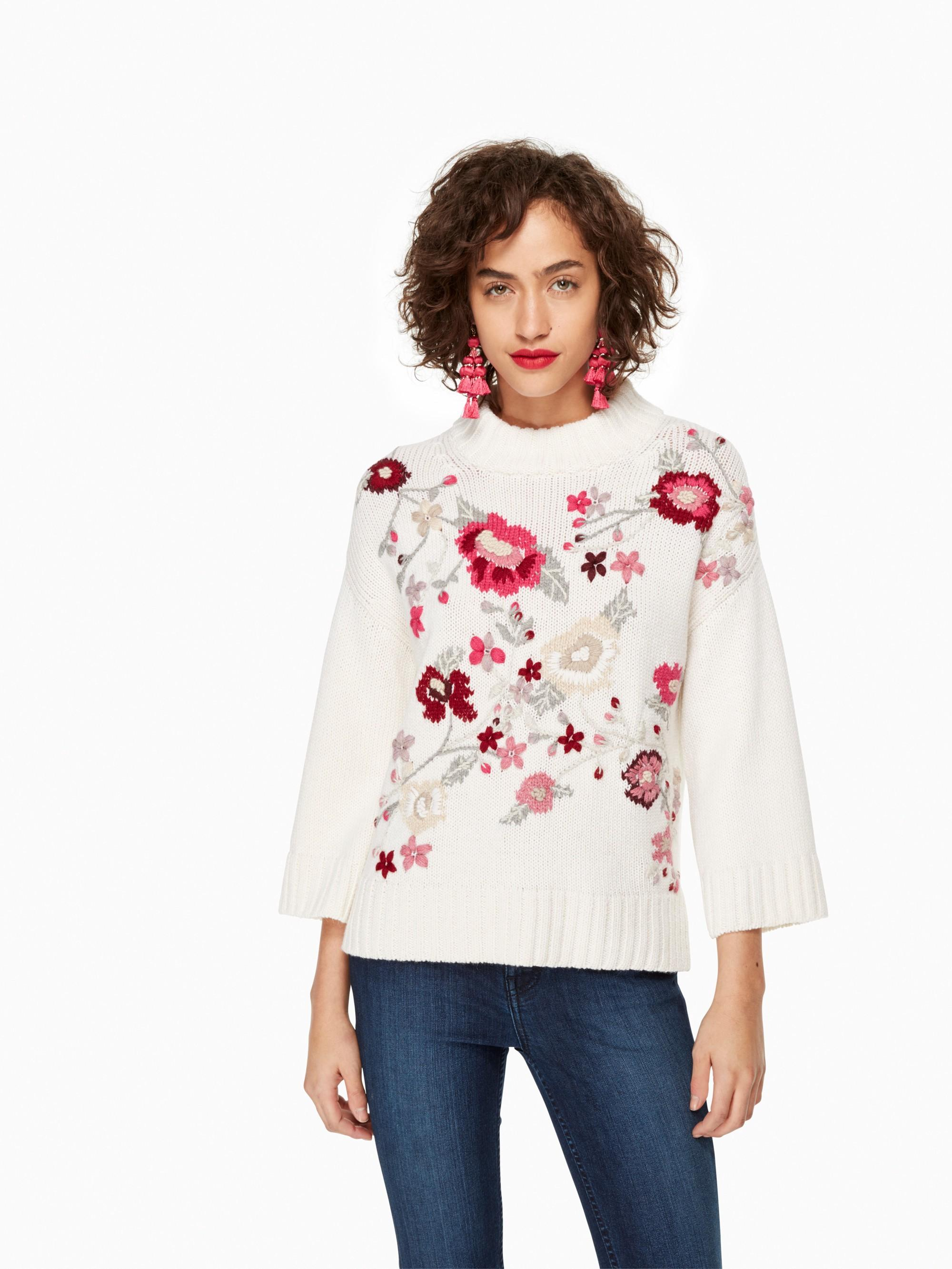 Kate Spade Dayna Sweater In Cream