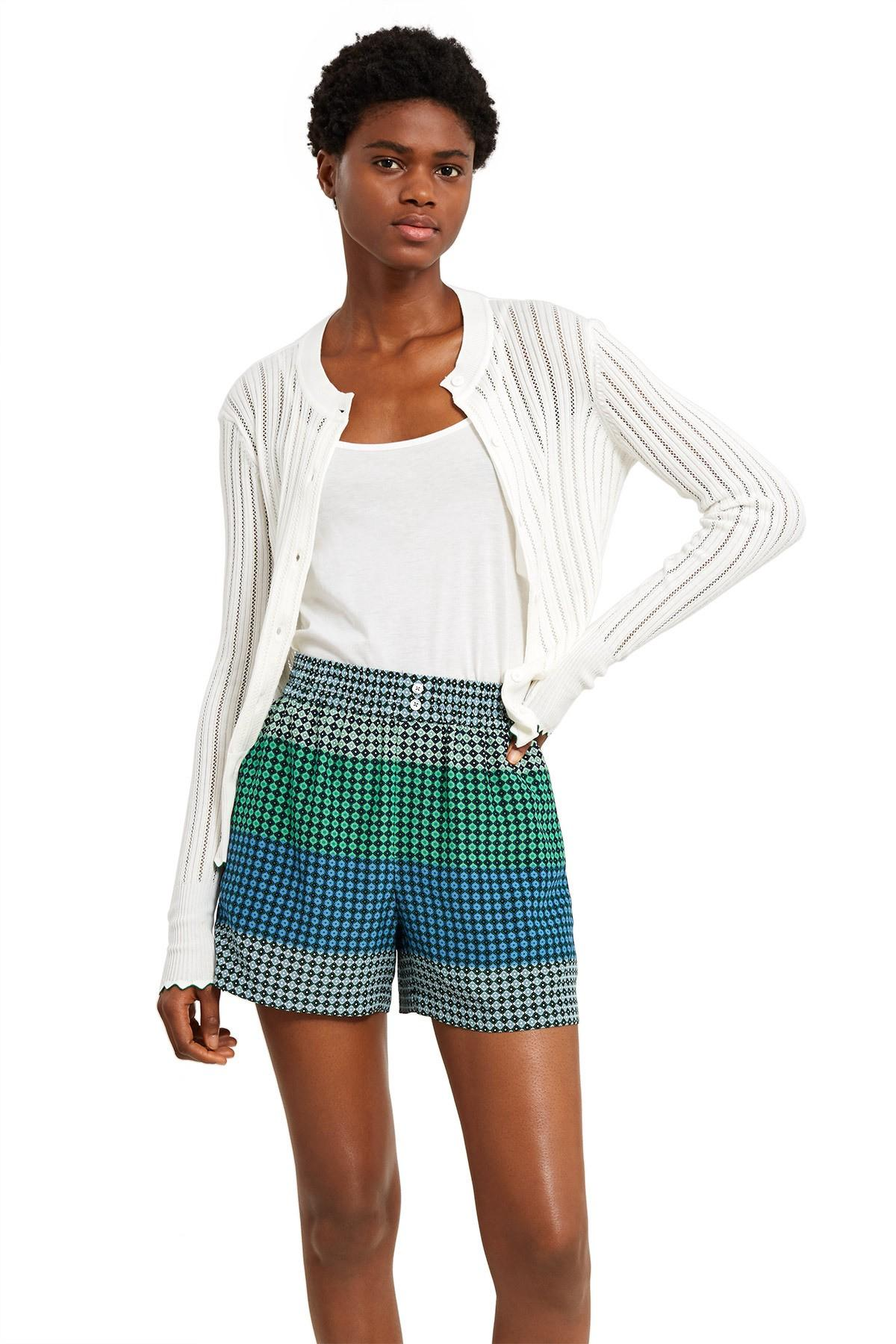 Opening Ceremony Pointelle Cardigan In White