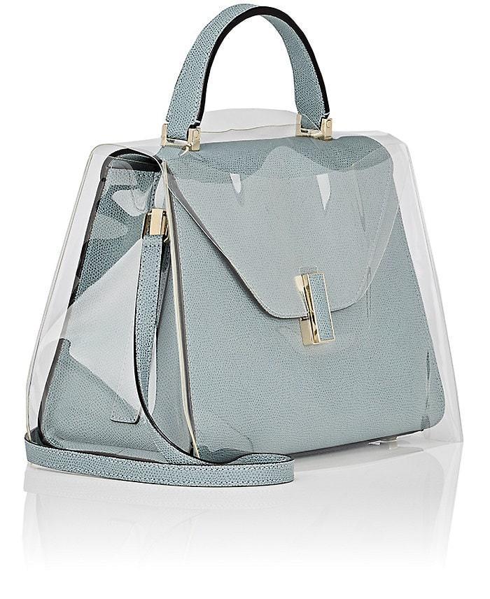 Valextra Iside Medium Handbag Raincoat