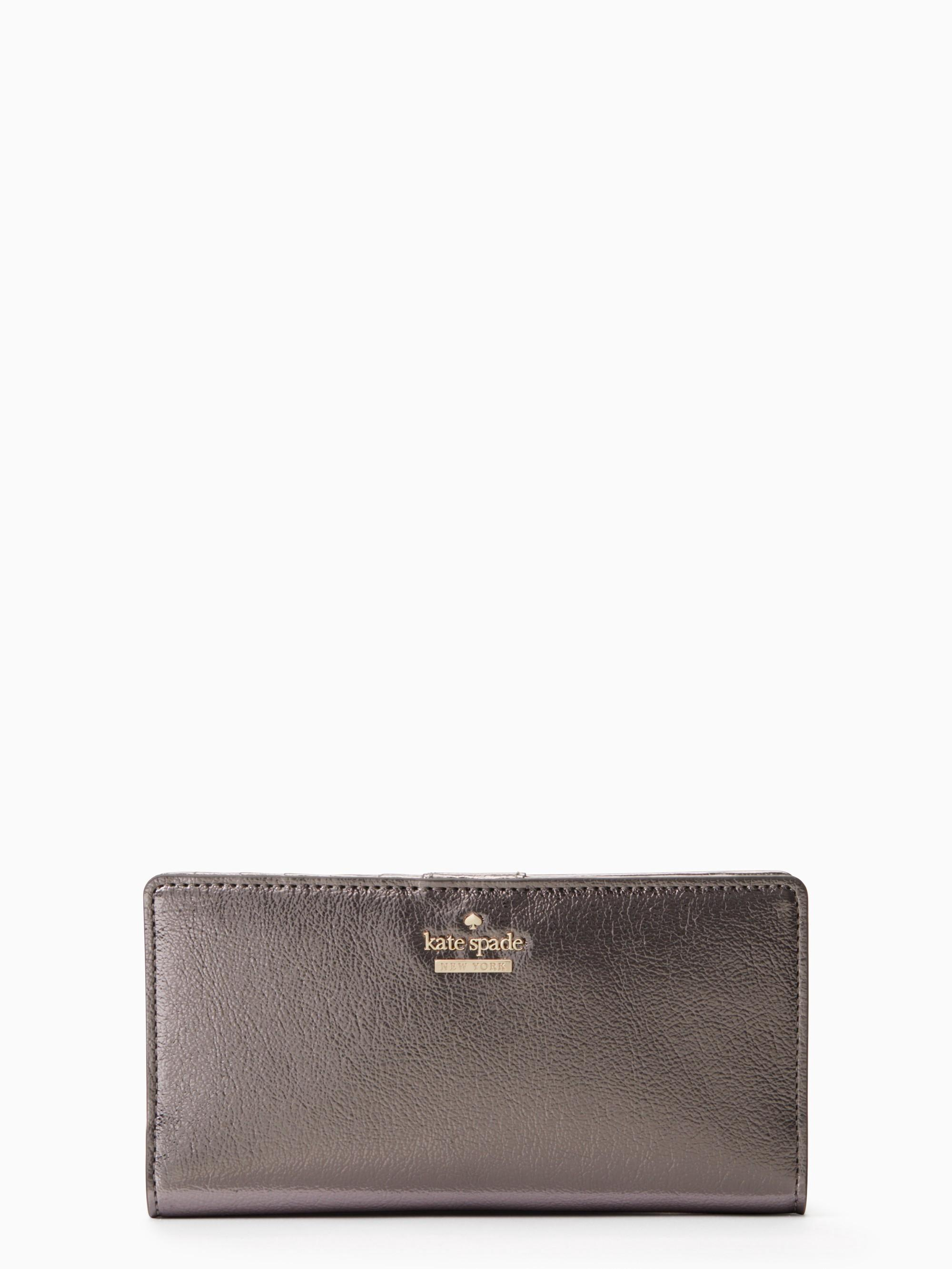 Kate Spade Highland Drive Stacy In Anthracite