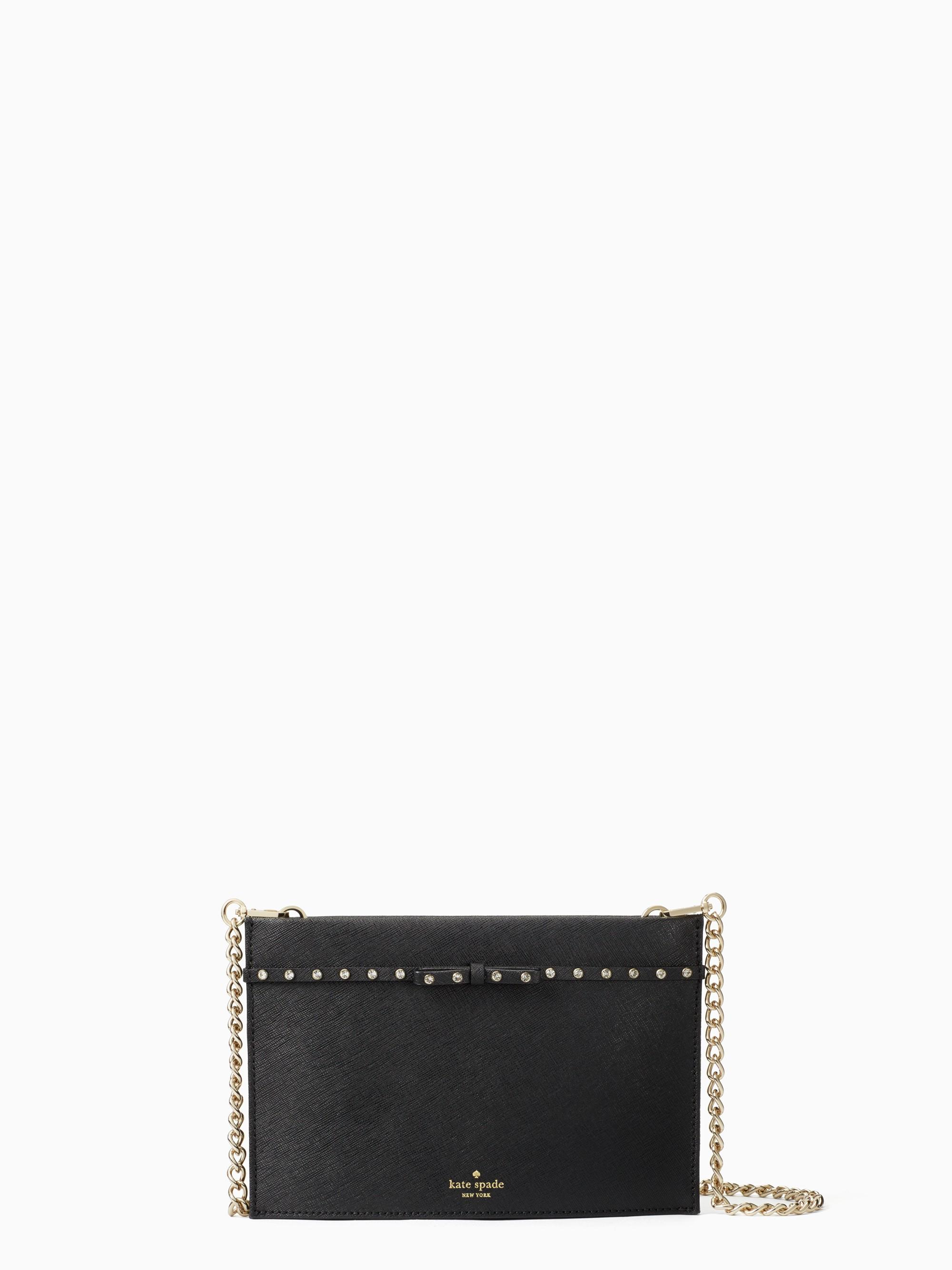 Kate Spade Elliott Street Mini Sima In Black