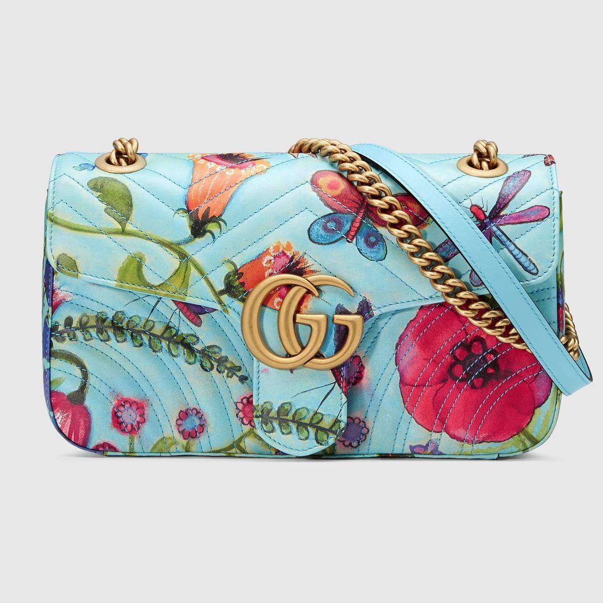 f63169667cee Gucci Unskilled Worker Gg Marmont Shoulder Bag | ModeSens
