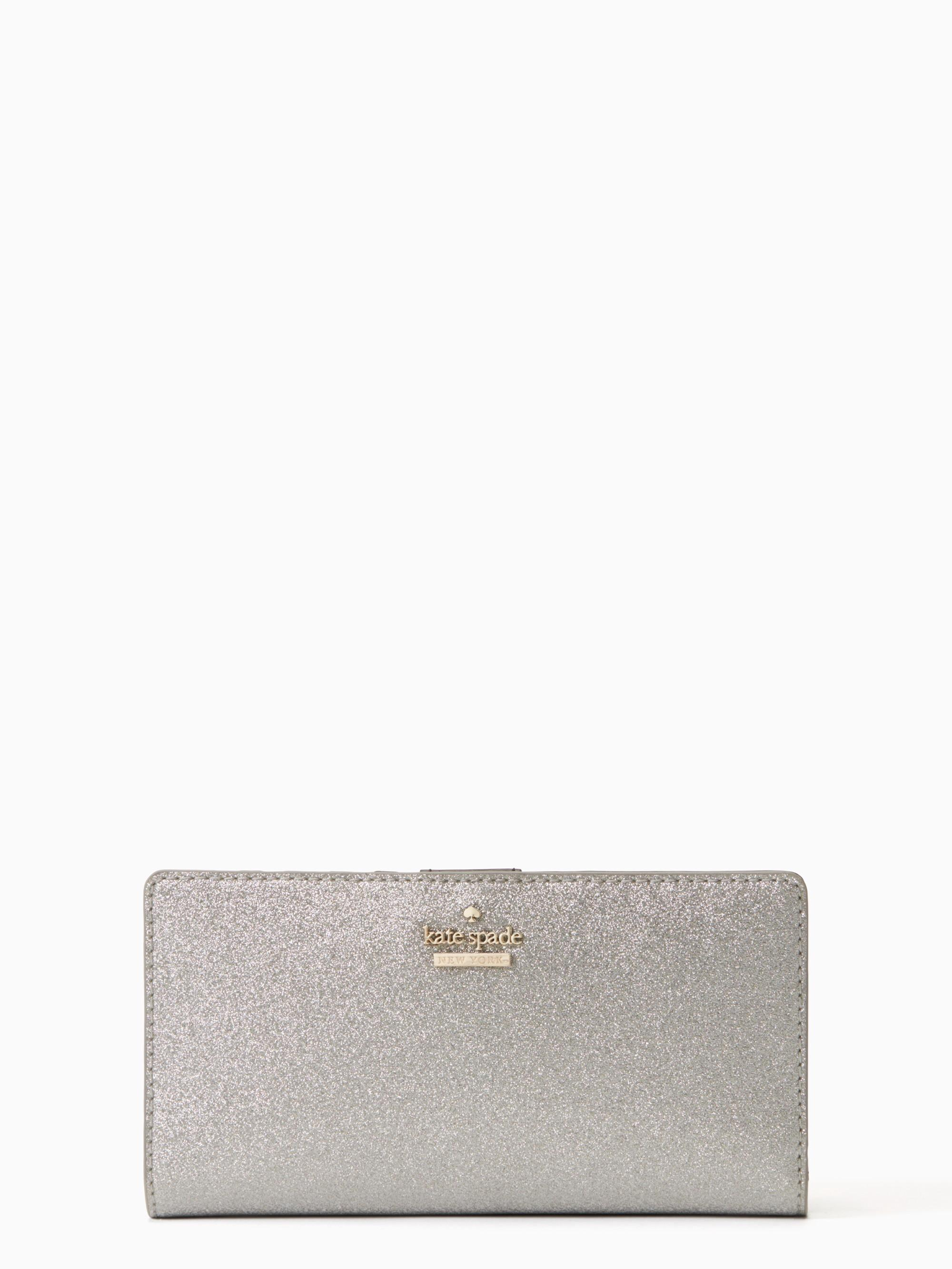 Kate Spade Burgess Court Stacy In Silver