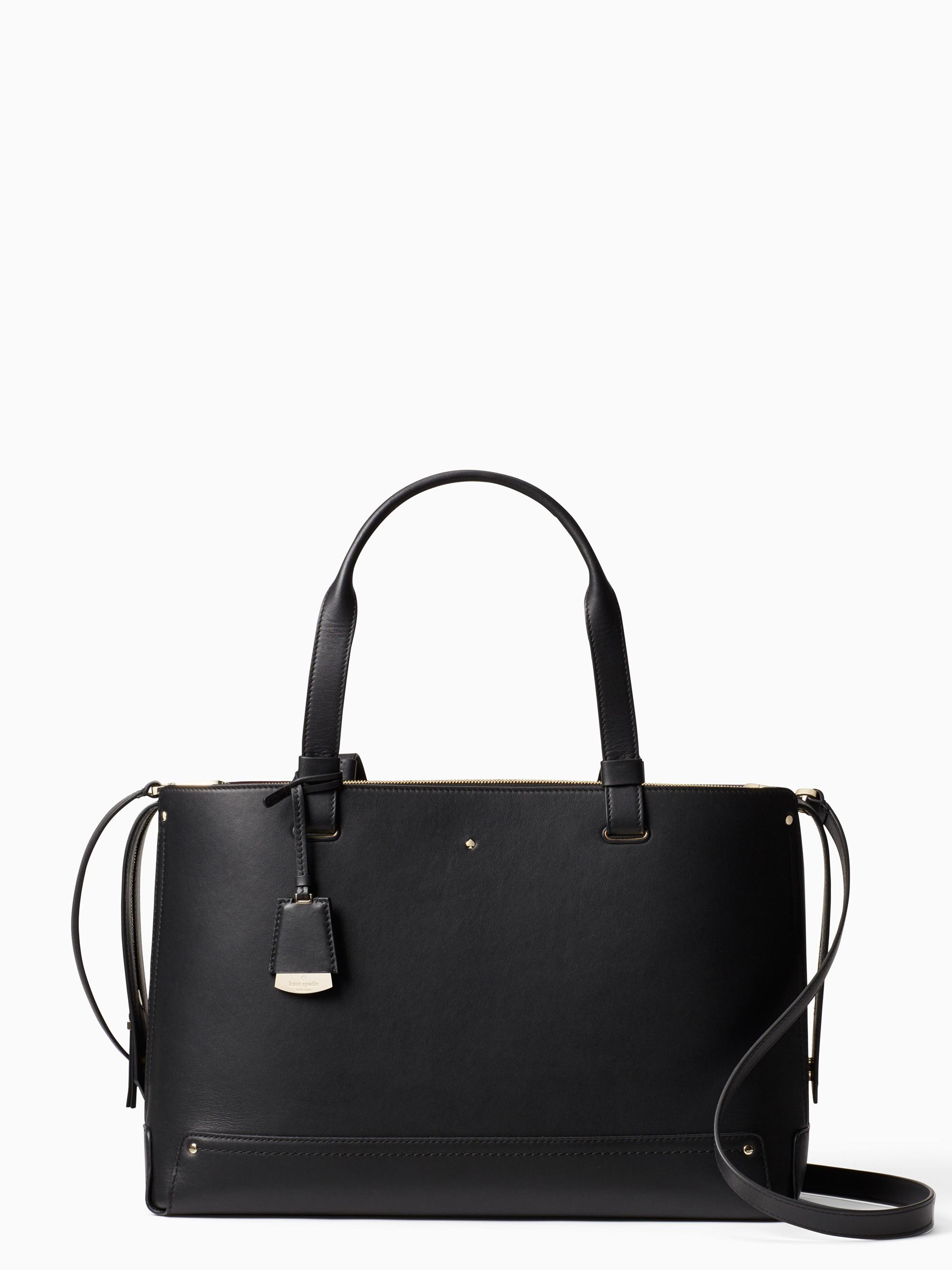 Kate Spade Logan Street Large Eloisa In Black