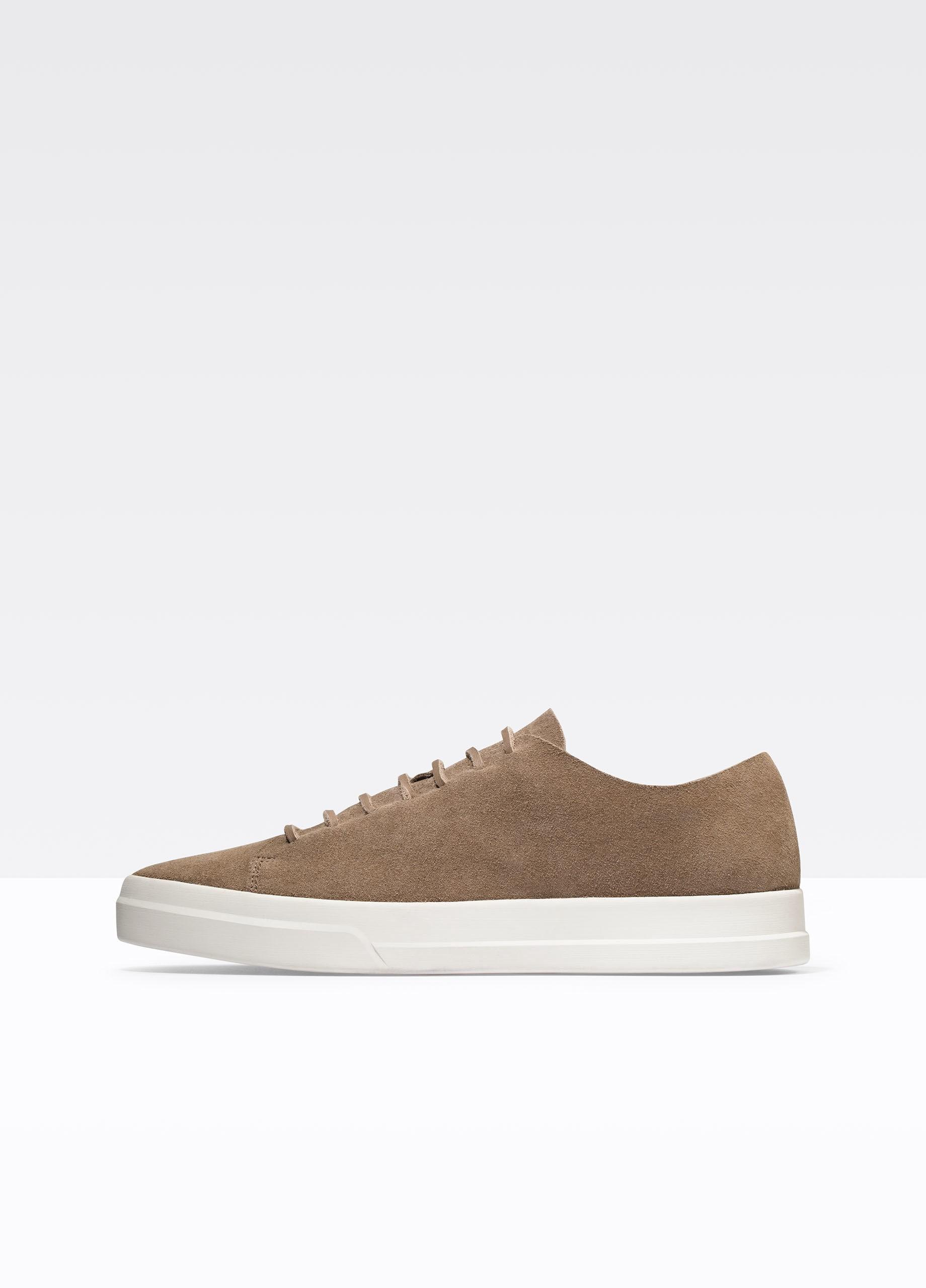 Vince Simon Suede Sneakers In Flint