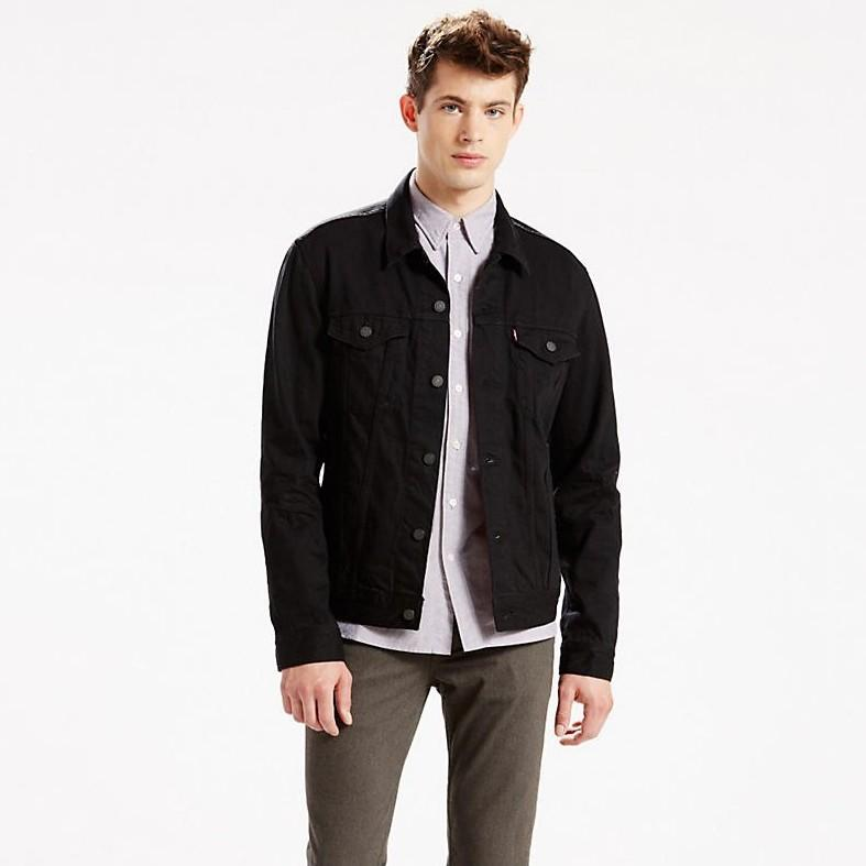 Levi's Men's Big & Tall Denim Trucker Jacket In Lamar