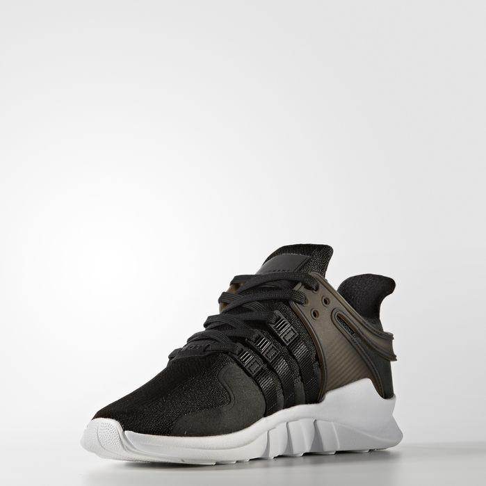 Adidas Originals Equipment Support Adv Mesh Sneakers In Black/White