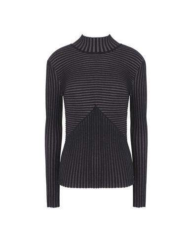 Calvin Klein Jeans Polo Neck In Black