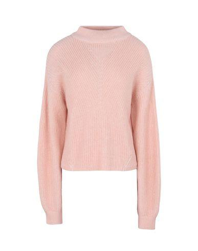 Calvin Klein Jeans Polo Neck In Pink