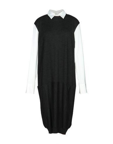 Brunello Cucinelli Knee-Length Dresses In Steel Grey