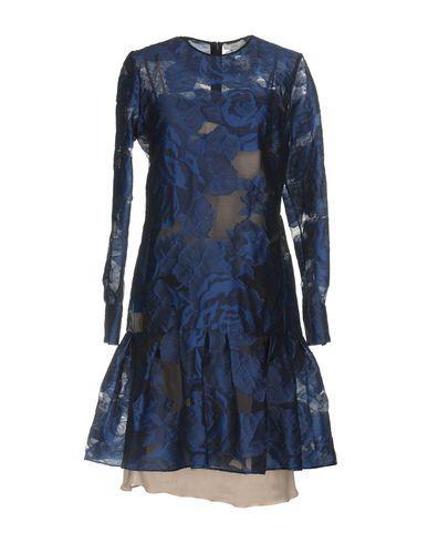Erdem Short Dresses In Dark Blue