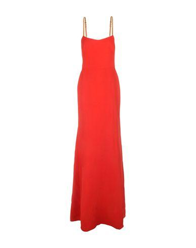 Victoria Beckham Long Dress In Red