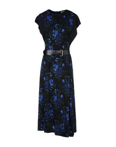 Miu Miu 3/4 Length Dress In Black