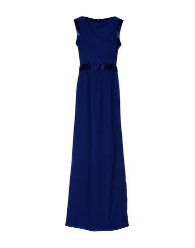 Armani Collezioni Long Dress In Blue