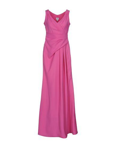Armani Collezioni Long Dress In Fuchsia