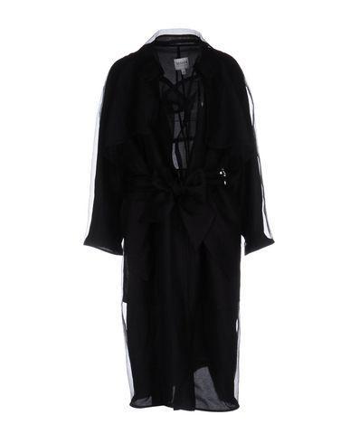 Armani Collezioni Overcoats In Black