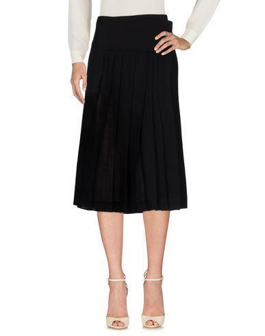 Donna Karan Midi Skirts In Black