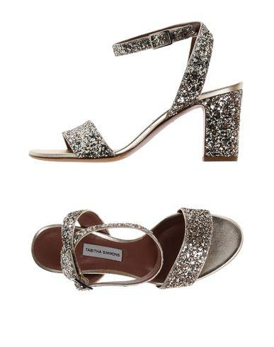 Tabitha Simmons Sandals In Silver