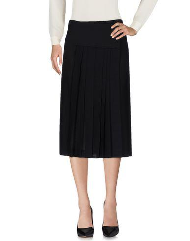 Donna Karan 3/4 Length Skirt In Black