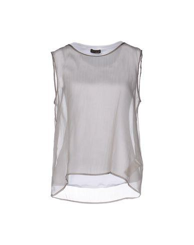 Peserico Tops In Dove Grey