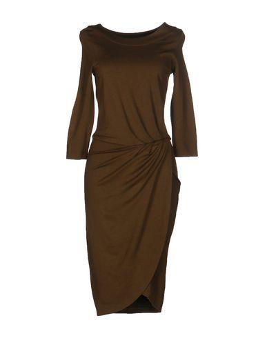 French Connection Knee-Length Dresses In Military Green