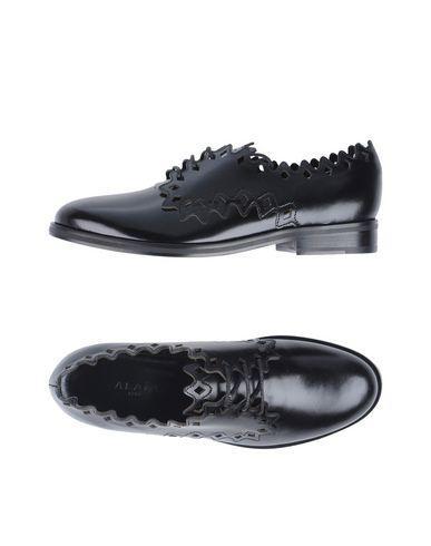 AlaÏA Lace-Up Shoes In Black