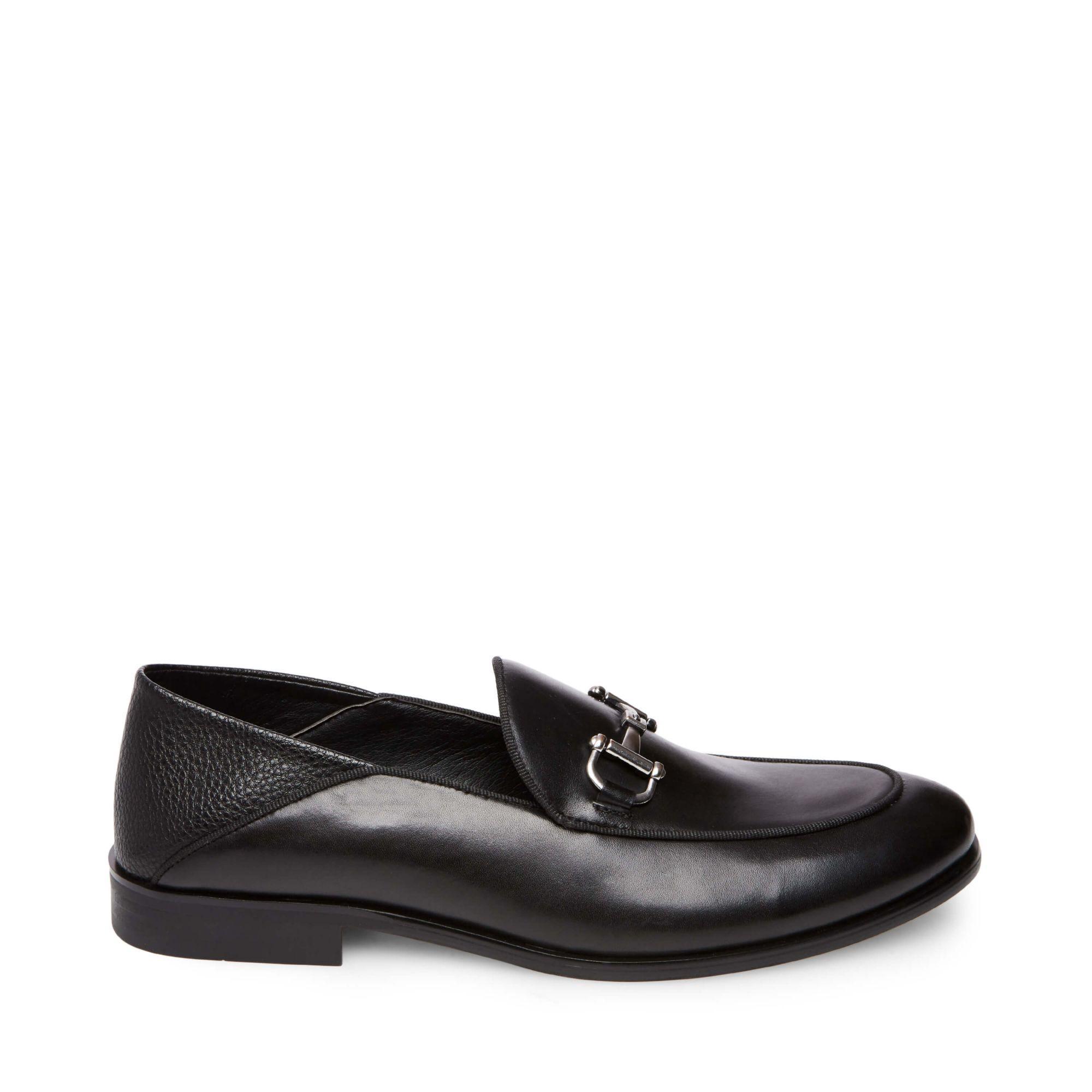 Steve Madden Men's Sauce Bit Loafers Men's Shoes In Black