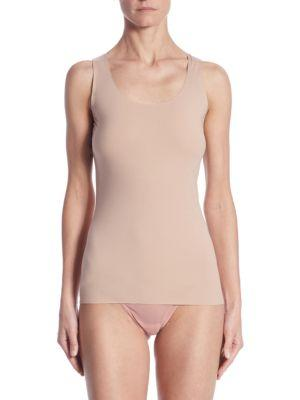 Wolford Pure Tank Top In Almond