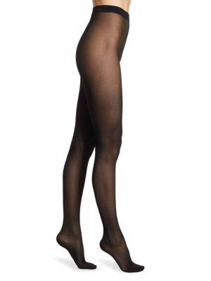 Wolford Travel Leg Support Tights In Midnight
