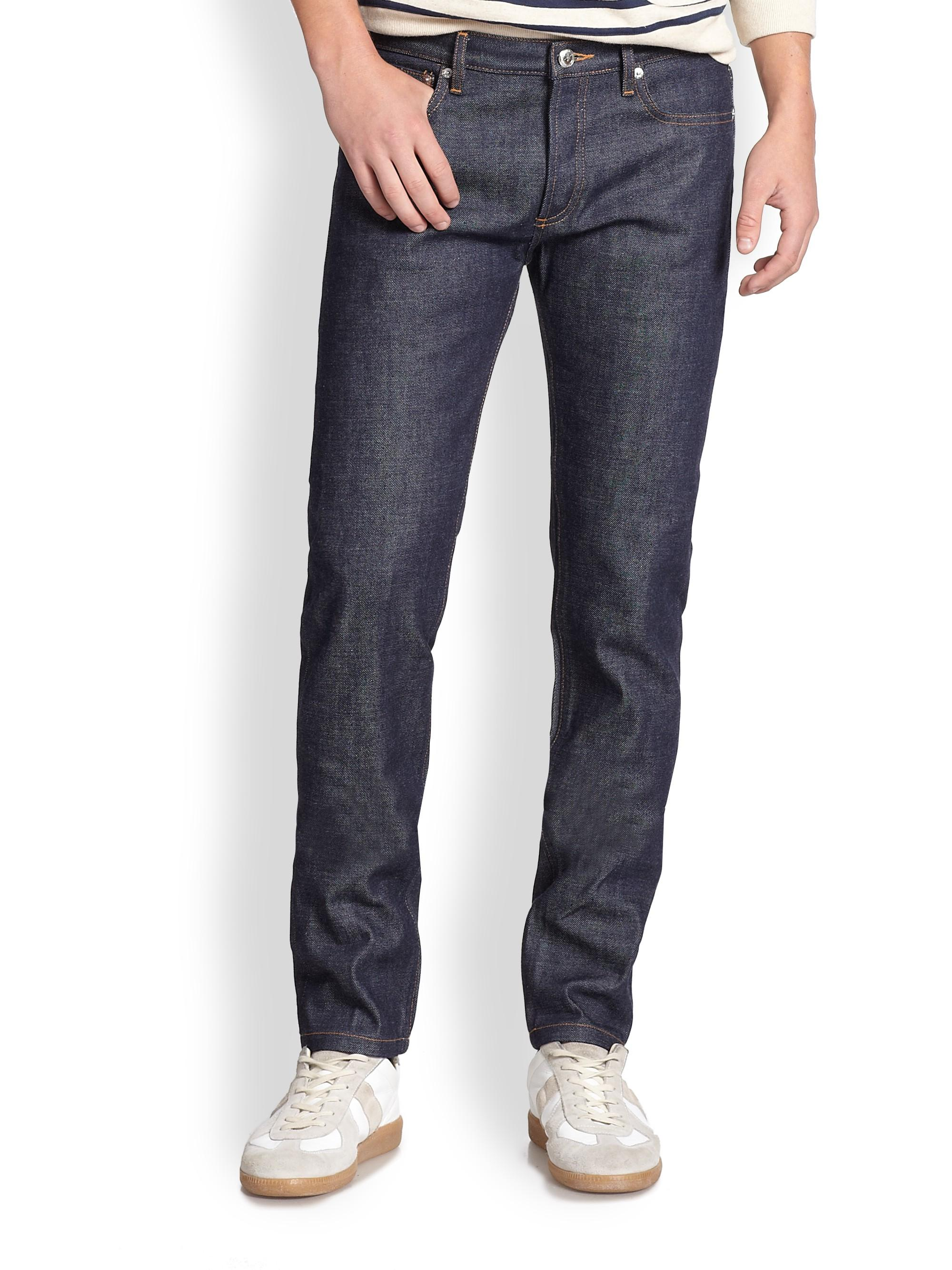 A.P.C. Petit New Standard Jeans In Indigo